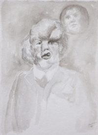 Illustration du film Elephant Man de David Lynch
