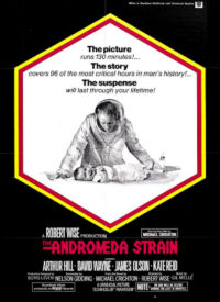 Le Mystère Andromède - The Andromeda Strain affiche US