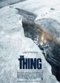 Affiche étrangère du film The Thing 2011