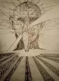 Illustration Hellraiser Hellbound par Nicolai Laros