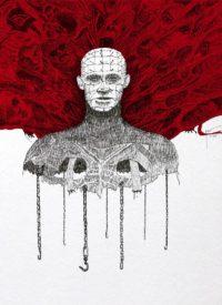 Illustration du film Hellraiser 1 par Alexandre Metzger