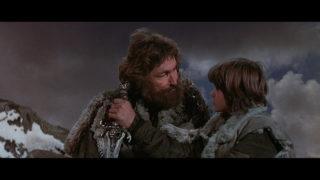 Conan et son père échange sur le secret de l'acier