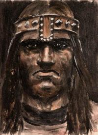 Illustration Conan le Barbare d'après le film de John Milius