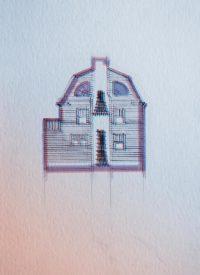 Illustration Amityville 3D par alx