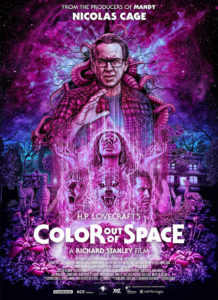 Colour out of space affiche us