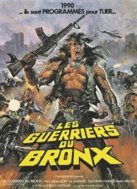 Les Guerriers du Bronx Affiche française personnage