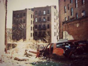 Epave à New York années 1980