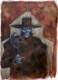Jeepers Creepers illustration alx