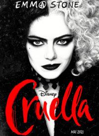 Cruella 2021 affiche française tête
