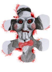Illustration de Saw de James Wan par alx